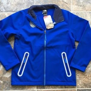 North Face Apex Bionic Blue Jacket Boys Youth
